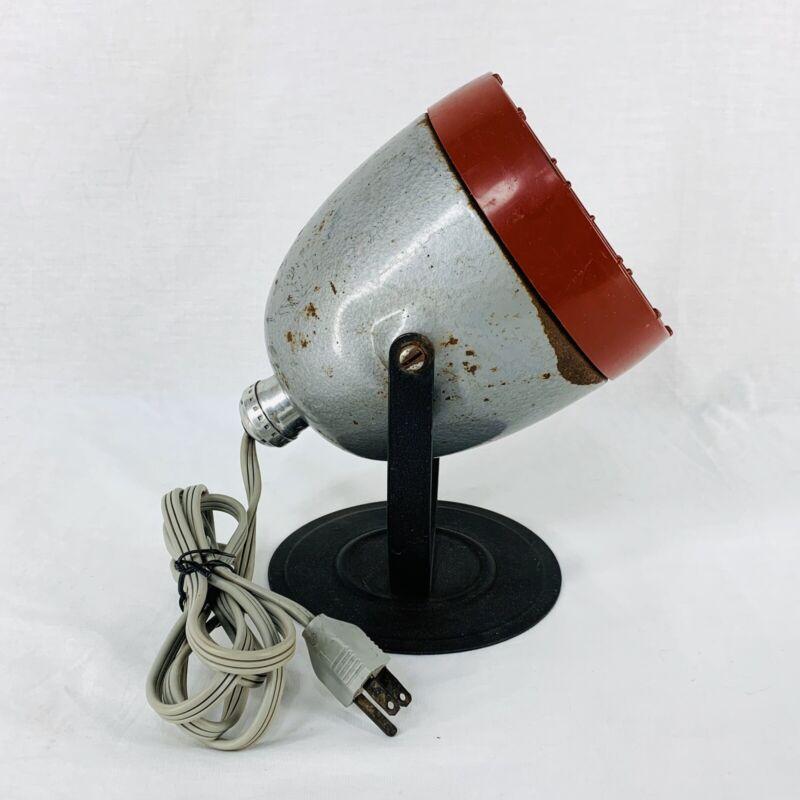 Kodak Darkroom Safe Light Lamp Model B Yellow Filter Retro Steampunk Re-purpose