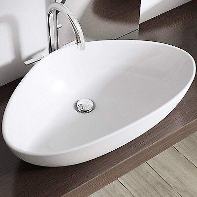 Sogood Design Keramik Waschschale Aufsatzwaschbecken Waschtisch mit NANO-Schutz