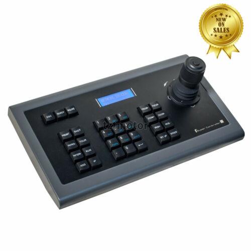 4D CCTV IP PTZ Controller PTZ Keyboard Controller Joystick w/ LCD Blue Backlight