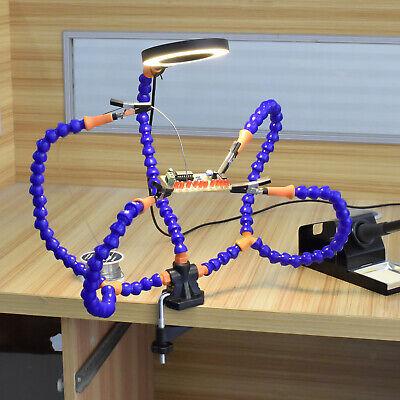 Desk Clamp Soldering Pcb Holder Helping Hand Welding Station Soldering Hand Tool