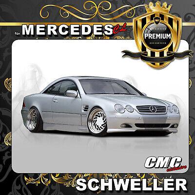 Seitenschweller für Mercedes Benz CL C215 AMG Black Series Seitenleisten +TÜV