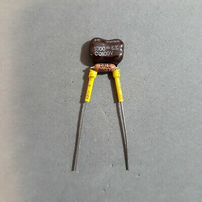 """Insulated YELLOW TREBLE BLEED /""""SUHR/"""" Style 680pF cap 150K resistor in PARALLEL"""