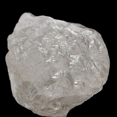 Natural Loose Diamond Raw Rough Shape Silver Grey Color I3 Clarity 1+ Carat Q95