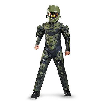 Halo - Master Chief Child Costume (Childs Halo Costume)