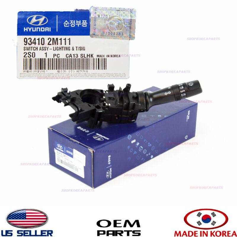 GENUINE Headlight Turn Signal Switch for 2006-2009 Hyundai Tucson OEM 934102E005