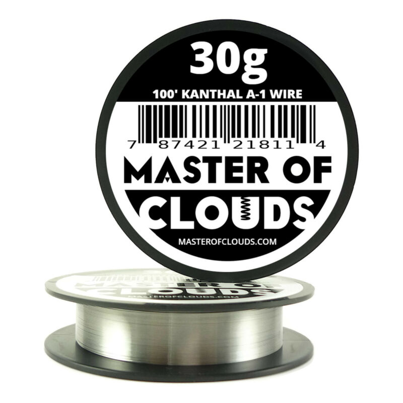 100 ft - 30 Gauge AWG A1 Kanthal Round Wire 0.25mm Resistance A-1 30g GA 100
