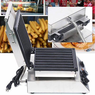 8pcs Hot Dog Sausage Non-stick Machine Waffle Maker Commercial Stainless Steel