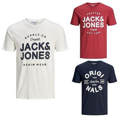 Jack&Jones Hombre Camiseta corta Cuello redondo 22112