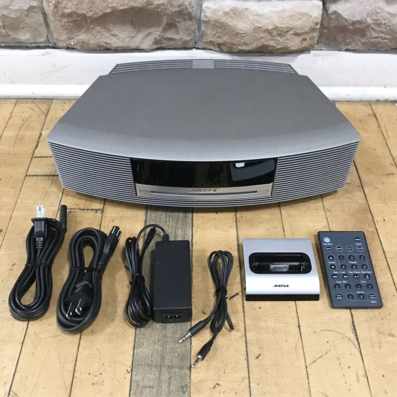 Bose Wave Music System Gray CD + AM/FM + Wave Connect Kit ++ Tested + Working