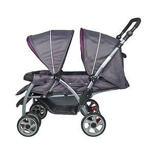 Brand New Mamakiddies Tandem Baby Stroller Twin Baby Pram Auburn Auburn Area Preview