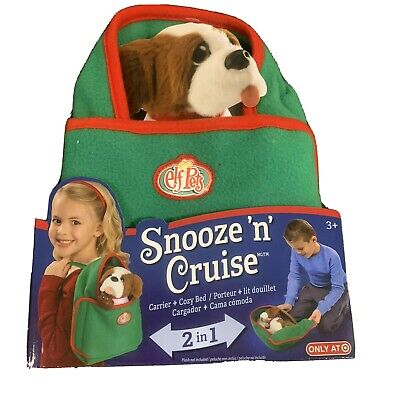 NIB ELF ON THE SHELF PETS SNOOZE 'N' CRUISE 2 in 1 carrier & cozy bed
