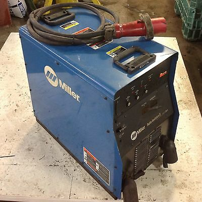 Miller Auto Invision Ii Arc Welding Power Source 230460v 19.2kwcracked Wks