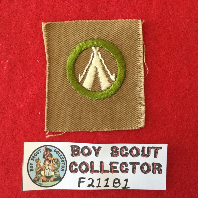 Boy Scout Square Merit Badge Camping