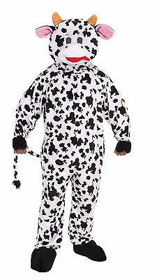 DELUXE PLUSH COW MASCOT ADULT HALLOWEEN COSTUME STANDARD SIZE ALWAYS FUN - Adult Cow Halloween Costume