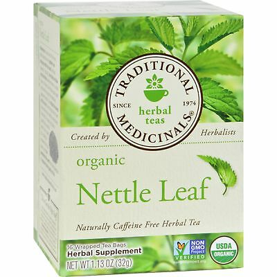 Traditional Medicinals, Organic Nettle Leaf 1.13 oz (16 -
