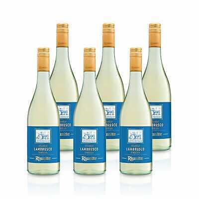6x Lambrusco Dolce Bianco IGT Weißwein Süß Italien - Cantine Riunite