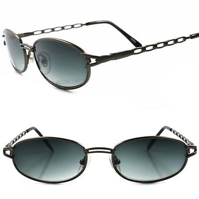 True Vintage 90s Unique Design Urban Fashion Mens Womens Rectangle Sunglasses