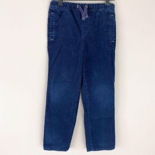 Mini Boden Navy Corduroy Pull on Elastic Waist Pants 9y