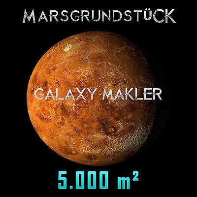 Marsgrundstück - Grundstück auf dem Mars 5.000 m² - Mondgrundstück Sterntauf