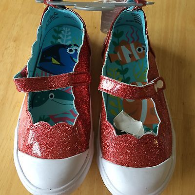 NWT DISNEY STORE FINDING DORY GIRLS SNEAKERS 8, 9,10 Shoes Mary Jane](Girls Disney Shoes)