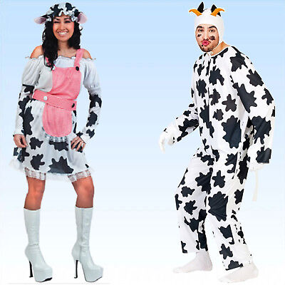 Tierkostüm Stier oder Kuh Gr. M/L Tier Kostüm Faschingskostüm Theaterkostüm - Theater Tier Kostüm