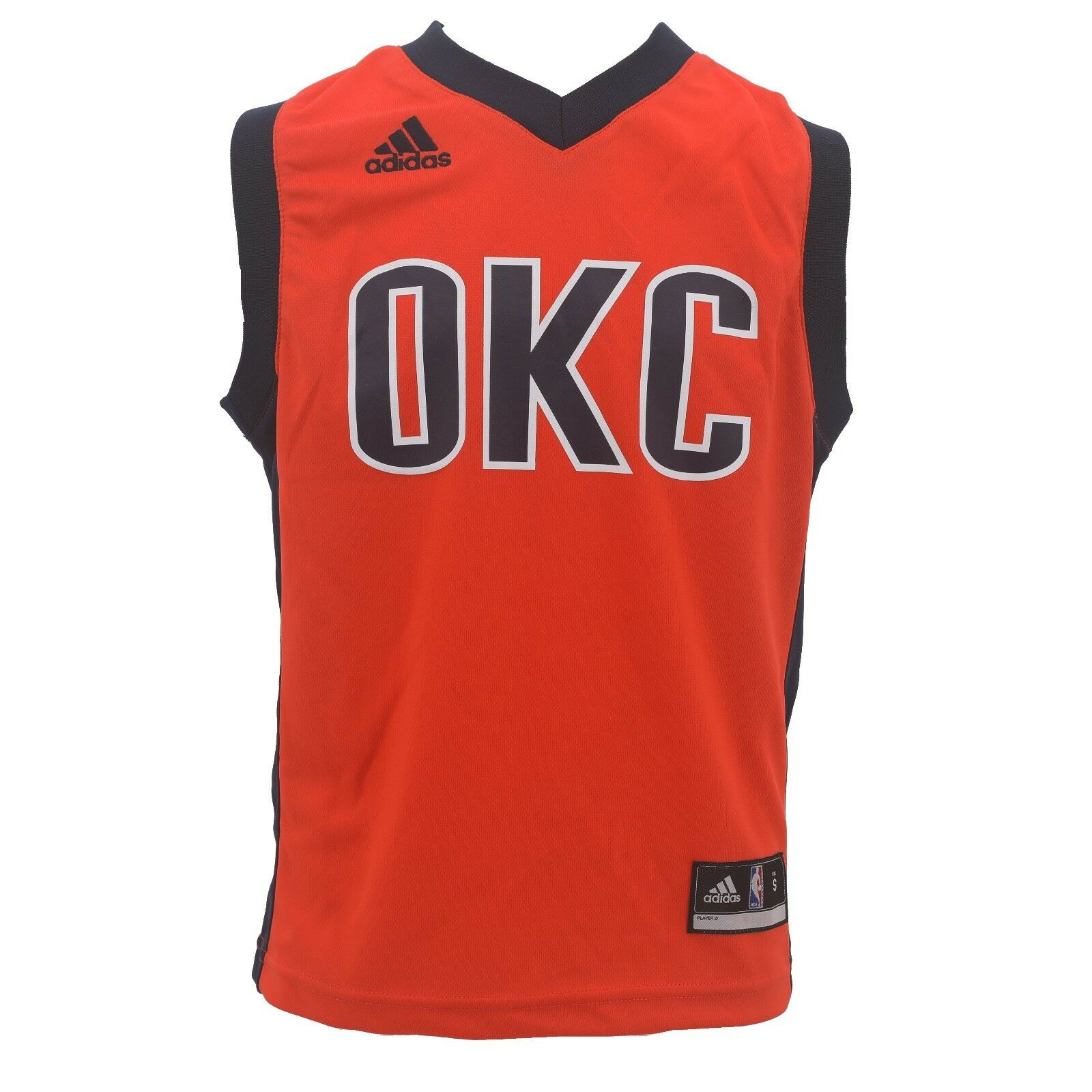 0b2581b50 NBA Oklahoma City Thunder Kids Youth Size Adidas Official Jersey New With  Tags