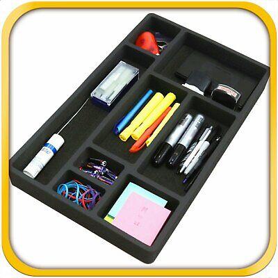 Desk Drawer Organizer Insert Home Or Office 8 Slot 19.9 X 12.1 No Rattle