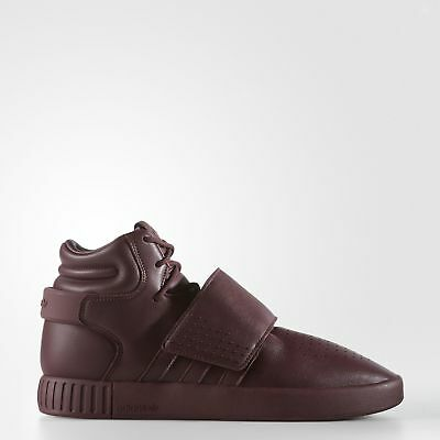 adidas Tubular Invader Strap Shoes Men's Red