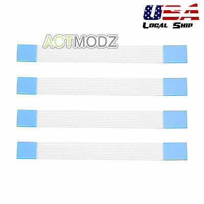 4x Controller Touchpad 10 Pin Flex Ribbon Cable For Playstation 4 PS4 JDM-030