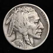 1917 s Buffalo Nickel