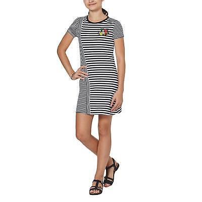 Million X Kinder Mädchen Kleid Kurzarmkleid Sommerkleid Rundhals Mode weiß