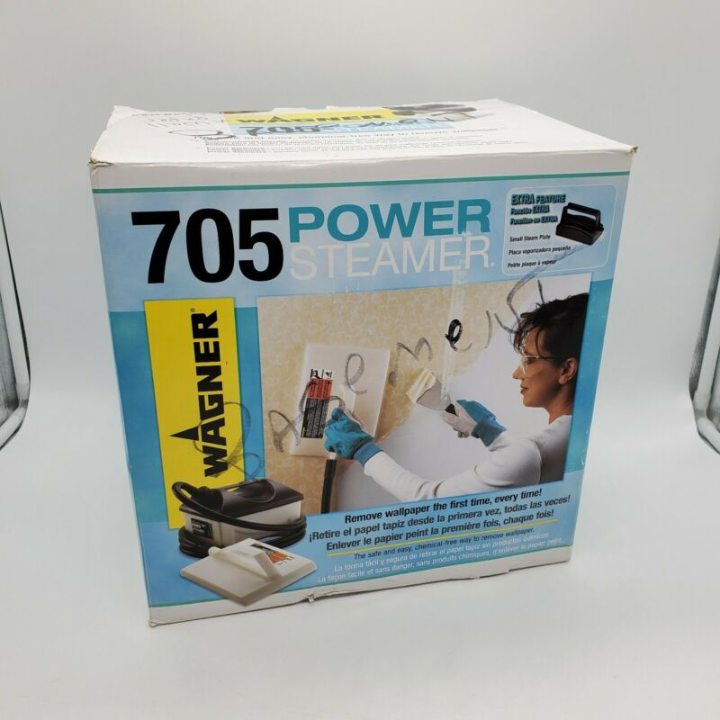 Wagner 705 Power Steamer / Wallpaper Remover In Box - Used Once - Very Clean