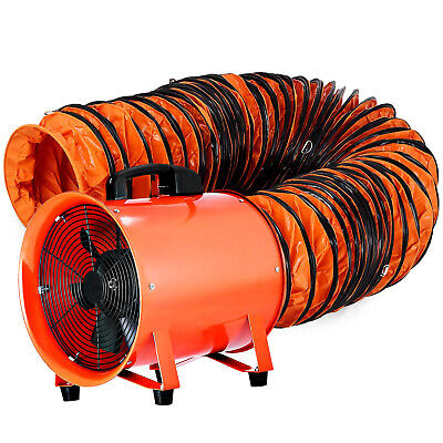 12 Extractor Fan Blower Portable W5m Duct Hose Ventilator Industrial Exhaust