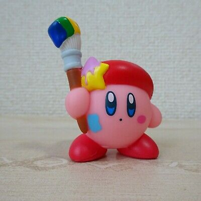Nintendo  Plush Doll Star's Kirby Mascot  Soft vinyl collection Paint