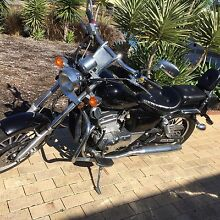 BLACK LARO 250cc CRUISER EX COND LAMS APPROVED Woodvale Joondalup Area Preview