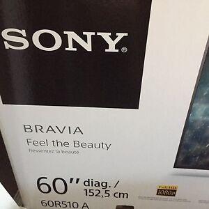 """Sony 60"""" tv."""