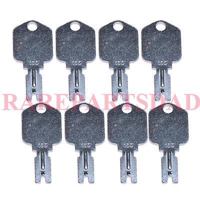 8 For Clark Yale Hyster Komatsu Gradall Gehl Crown 166 Hyster Forklift Keys