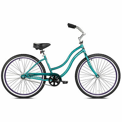 Kent International 26 Inch Back Wheel Ladies Kiawah Cruiser Street Bicycle, Teal
