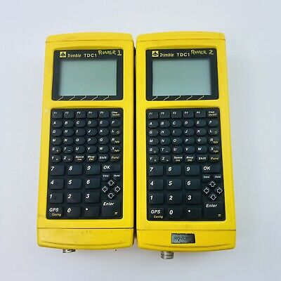 Pair Of Trimble Tdc1 Survey Data Collector 3300-cnchope-007
