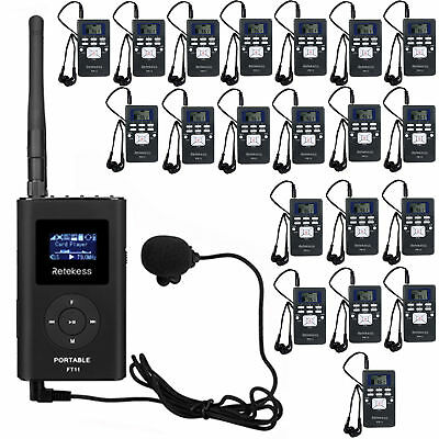 Wireless Tour Guide/Conference System for Church/Training -