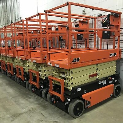 Brand New 2018 Jlg 1932r 19 Ft. Electric Scissor Lift - Flat Rate Shipping