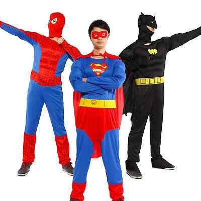 Herren Kostüm Comic Helden Super Hero Fasching Dawn of Justice Cosplay Outfit