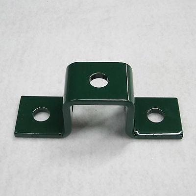 "(5) Hole ""U"" Shaped Fitting / Green (Qty 2) P1047 & B107 For Unistrut Channel"