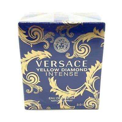 Versace Yellow Diamond intense 90ml EDP Spray Brand New Retail Sealed