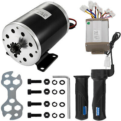 48v 1000w Dc Electric Motor Controller Throttle Kit Mini Bike Bicycle 3000rpm
