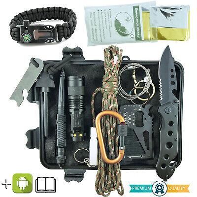 Kit de Supervivencia Militar Profesional de Tercera Generación EmergenciaMontaña