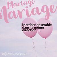 Photographe de votre mariage