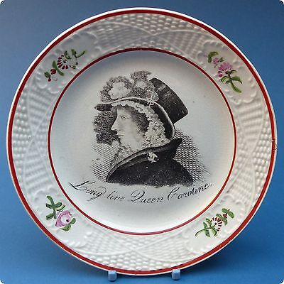 c1820 Queen Caroline Pearlware Nursery Plate