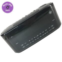 GE 7-4852A Dual Alarm AM/FM Clock Radio Large Digital LED Display - Tested