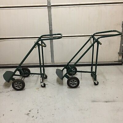Welding Cylinder Hand Truckscarts Folding Converts From 4 Wheels To 2 Wheels